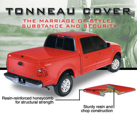 Tri-Glass Fiberglass Tonneau Covers : Truck Accessories